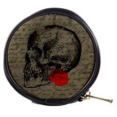Skull and rose  Mini Makeup Bags
