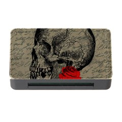 Skull and rose  Memory Card Reader with CF