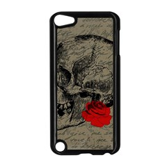 Skull and rose  Apple iPod Touch 5 Case (Black)
