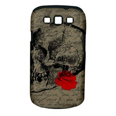 Skull and rose  Samsung Galaxy S III Classic Hardshell Case (PC+Silicone)