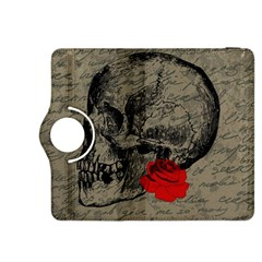 Skull and rose  Kindle Fire HDX 8.9  Flip 360 Case