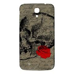 Skull and rose  Samsung Galaxy Mega I9200 Hardshell Back Case