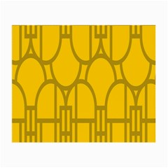 The Michigan Pattern Yellow Small Glasses Cloth (2 Side)