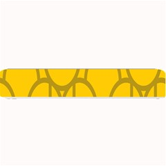 The Michigan Pattern Yellow Small Bar Mats