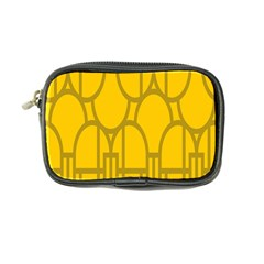 The Michigan Pattern Yellow Coin Purse