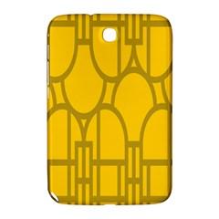 The Michigan Pattern Yellow Samsung Galaxy Note 8.0 N5100 Hardshell Case