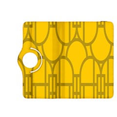 The Michigan Pattern Yellow Kindle Fire HDX 8.9  Flip 360 Case