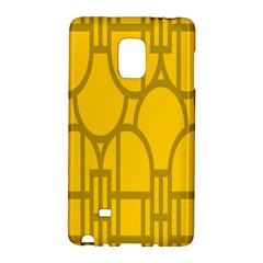 The Michigan Pattern Yellow Galaxy Note Edge