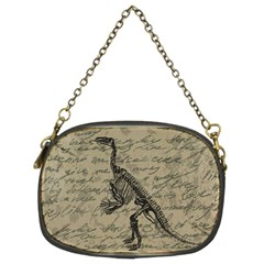 Dinosaur skeleton Chain Purses (Two Sides)