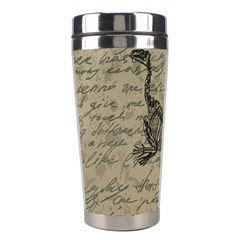 Dinosaur skeleton Stainless Steel Travel Tumblers