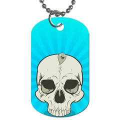 Skull Ball Line Schedule Dog Tag (two Sides)