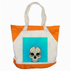 Skull Ball Line Schedule Accent Tote Bag