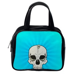 Skull Ball Line Schedule Classic Handbags (One Side)
