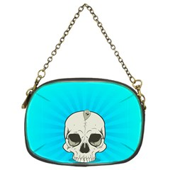 Skull Ball Line Schedule Chain Purses (two Sides)