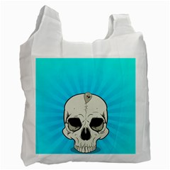 Skull Ball Line Schedule Recycle Bag (Two Side)