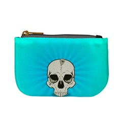 Skull Ball Line Schedule Mini Coin Purses