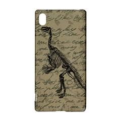 Dinosaur skeleton Sony Xperia Z3+