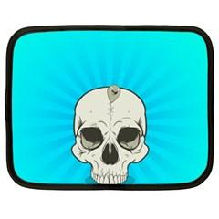Skull Ball Line Schedule Netbook Case (XXL)