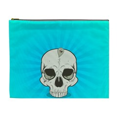 Skull Ball Line Schedule Cosmetic Bag (XL)