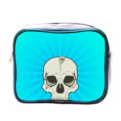 Skull Ball Line Schedule Mini Toiletries Bags