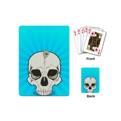 Skull Ball Line Schedule Playing Cards (Mini)