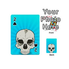 Skull Ball Line Schedule Playing Cards 54 (Mini)