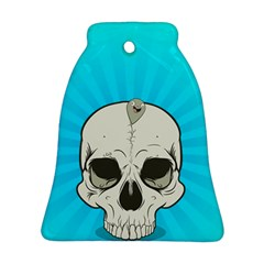 Skull Ball Line Schedule Bell Ornament (Two Sides)