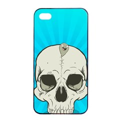 Skull Ball Line Schedule Apple iPhone 4/4s Seamless Case (Black)
