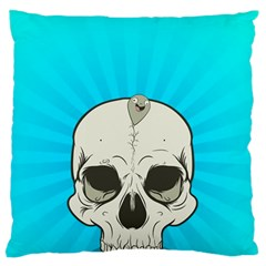 Skull Ball Line Schedule Large Cushion Case (Two Sides)