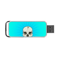 Skull Ball Line Schedule Portable Usb Flash (two Sides)