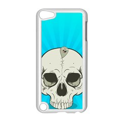 Skull Ball Line Schedule Apple iPod Touch 5 Case (White)