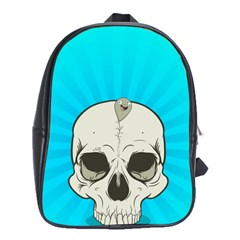 Skull Ball Line Schedule School Bags (XL)