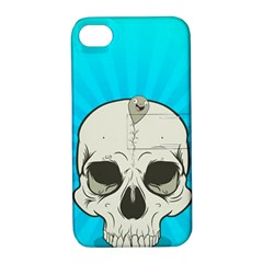 Skull Ball Line Schedule Apple iPhone 4/4S Hardshell Case with Stand