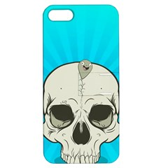 Skull Ball Line Schedule Apple iPhone 5 Hardshell Case with Stand