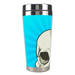 Skull Ball Line Schedule Stainless Steel Travel Tumblers