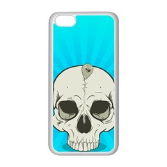 Skull Ball Line Schedule Apple iPhone 5C Seamless Case (White)