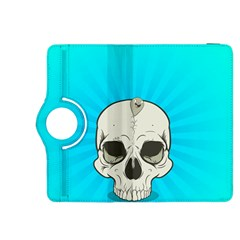 Skull Ball Line Schedule Kindle Fire HDX 8.9  Flip 360 Case