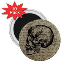 Skull 2.25  Magnets (10 pack)