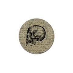 Skull Golf Ball Marker
