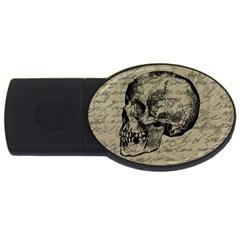 Skull USB Flash Drive Oval (1 GB)