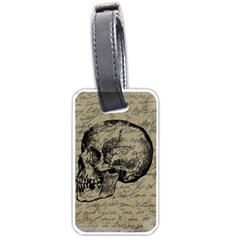 Skull Luggage Tags (One Side)
