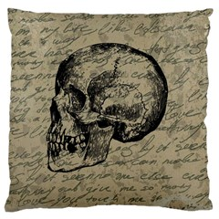Skull Large Cushion Case (Two Sides)