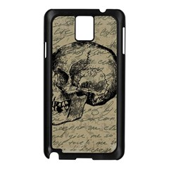 Skull Samsung Galaxy Note 3 N9005 Case (Black)