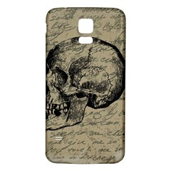 Skull Samsung Galaxy S5 Back Case (White)