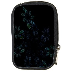 Fractal Pattern Black Background Compact Camera Cases