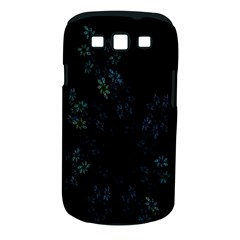 Fractal Pattern Black Background Samsung Galaxy S Iii Classic Hardshell Case (pc+silicone)