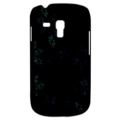 Fractal Pattern Black Background Galaxy S3 Mini