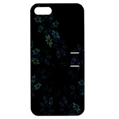 Fractal Pattern Black Background Apple iPhone 5 Hardshell Case with Stand