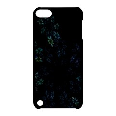 Fractal Pattern Black Background Apple Ipod Touch 5 Hardshell Case With Stand
