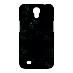 Fractal Pattern Black Background Samsung Galaxy Mega 6.3  I9200 Hardshell Case